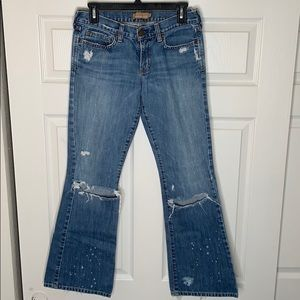 Abercrombie and Fitch | Madison | Distressed Jeans